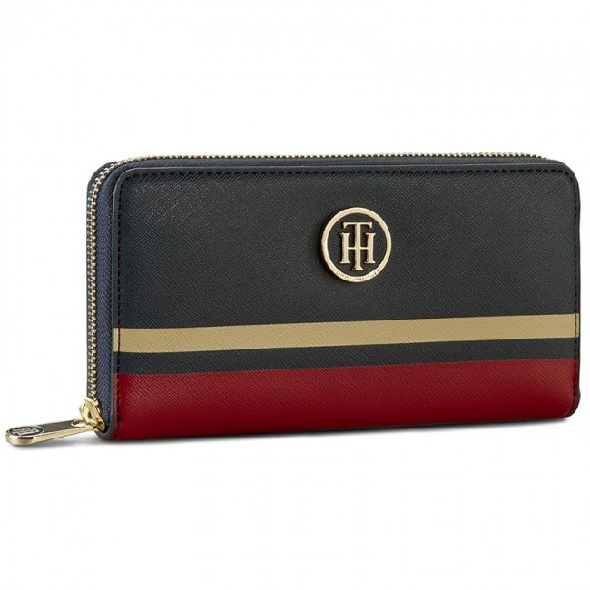 Womens Th Prep Large Za Wallet Mascot Wallet Red (Mascot) Tommy Hilfiger