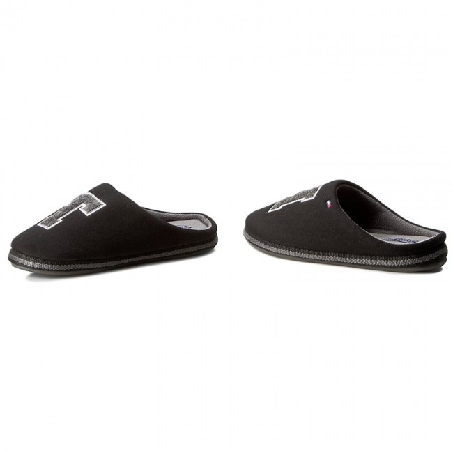 512776d8301d Slippers TOMMY HILFIGER - Cornwall 1D FM56822117 Black 990 ...