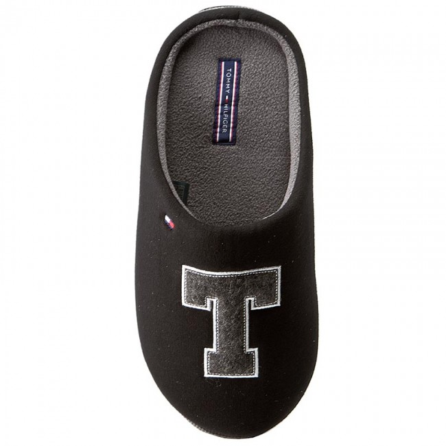 bc8549631a40 Slippers TOMMY HILFIGER - Cornwall 1D FM56822117 Black 990 - Slippers -  Mules and sandals - Men s shoes - www.efootwear.eu