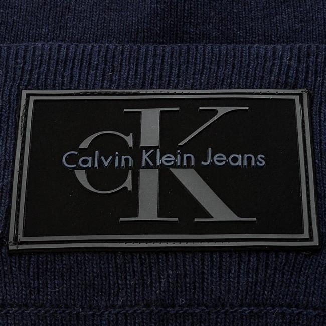 5ee449f60af Men s Cap CALVIN KLEIN JEANS - J Re-Issue Beanie K50K503426 423 ...
