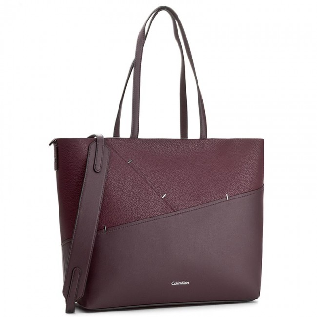 28632c125d Handbag CALVIN KLEIN - Luna Medium Tote Sta K60K603763 505 - Classic ...