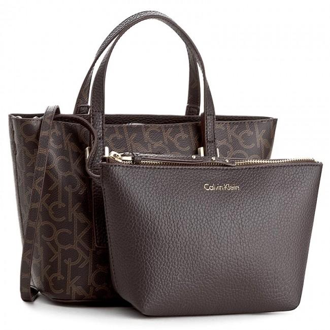 Handbag CALVIN KLEIN - Ck Small Tote Monogram K60K603673 225 ... c8e3e0240e3