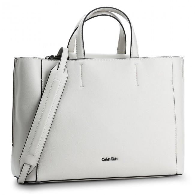 0fdec69d17d6 Handbag CALVIN KLEIN - Metropolitan Tote K60K603778 908 - Canvas ...