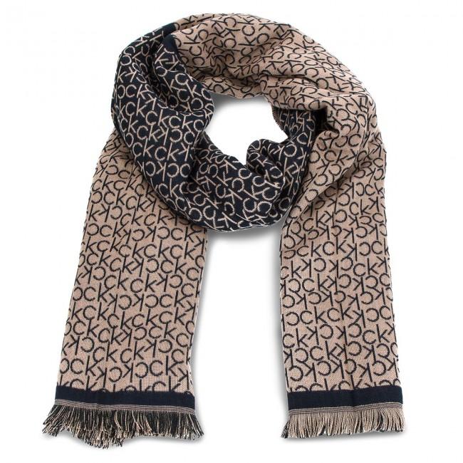 Scarf CALVIN KLEIN - Check S K60K604709 448 - Scarves - Fabrics ... 9bddfa09960