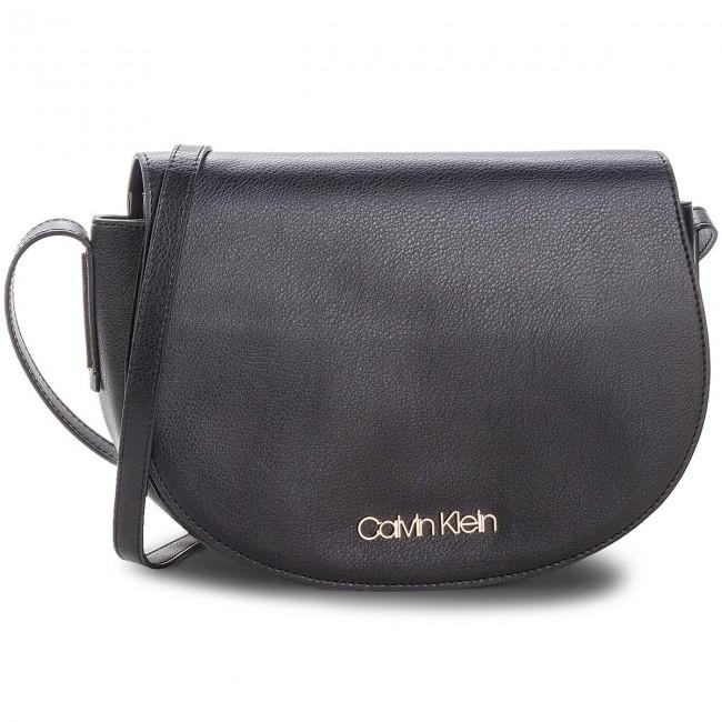 4377214c6ad06 Handbag CALVIN KLEIN - Frame Med Saddle Bag K60K604451 001 - Cross ...