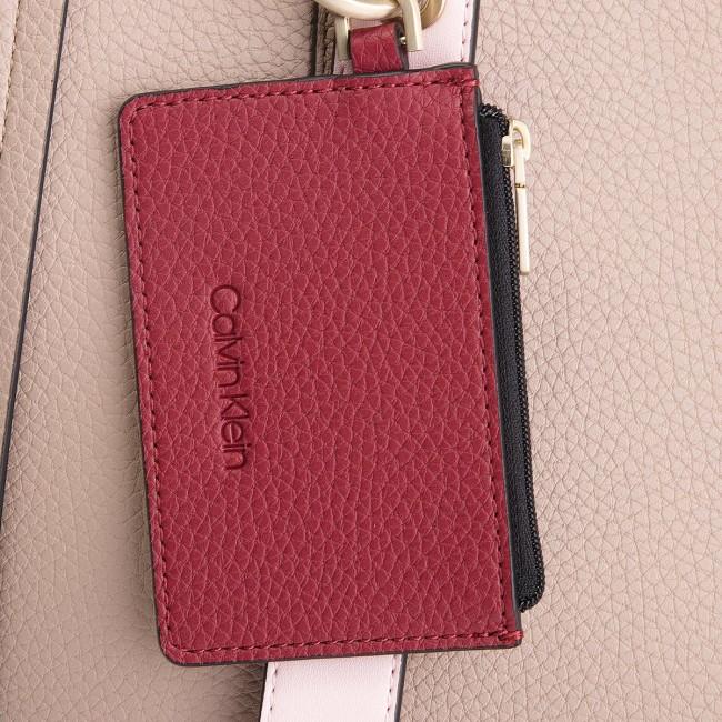 Handbag CALVIN KLEIN - Ck Base Medium Shopper K60K604427 007 ... d71e0d87446