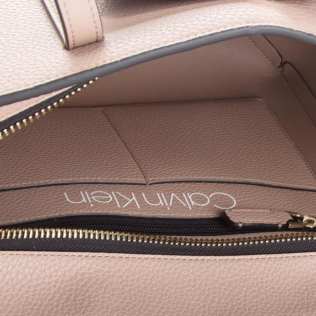 Handbag CALVIN KLEIN - Ck Base Medium Shopper K60K604427 007 - Canvas Totes    Shoppers - Handbags - www.efootwear.eu c6c71e3e955