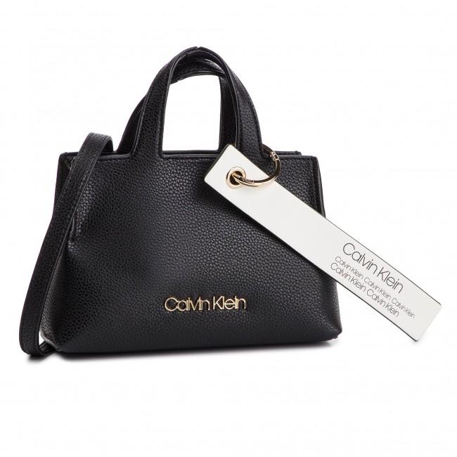 1e25fc64b16d5 Handbag CALVIN KLEIN - Neat Small Tote K60K605057 001 - Classic ...