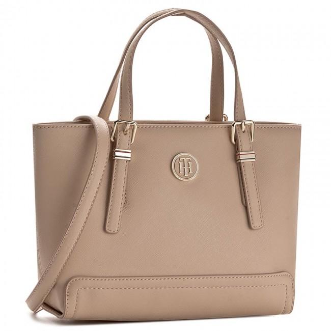 Handbag TOMMY HILFIGER - Honey Small Tote AW0AW03687 062 - Classic ... edd9af7c82c
