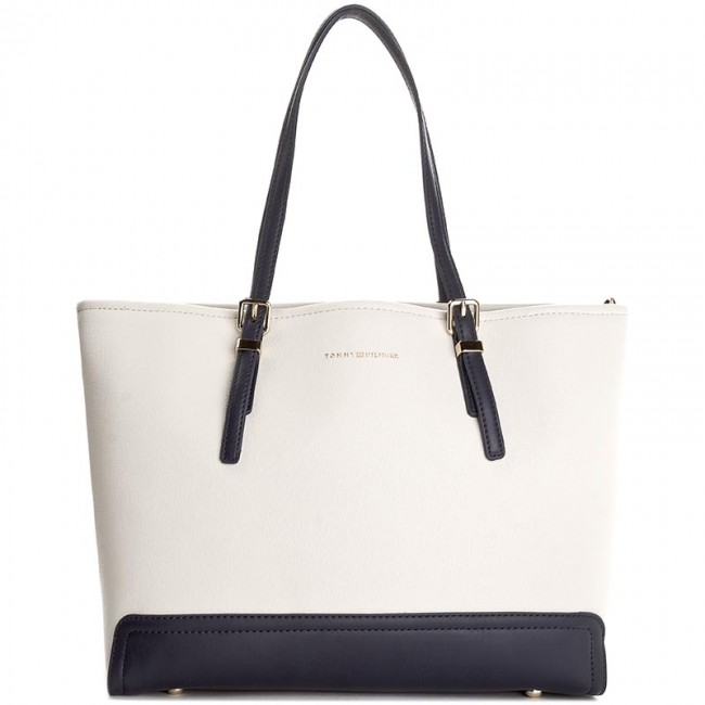 a7158eb2 Handbag TOMMY HILFIGER - Honey Medium Tote Mascot AW0AW03826 901 ...
