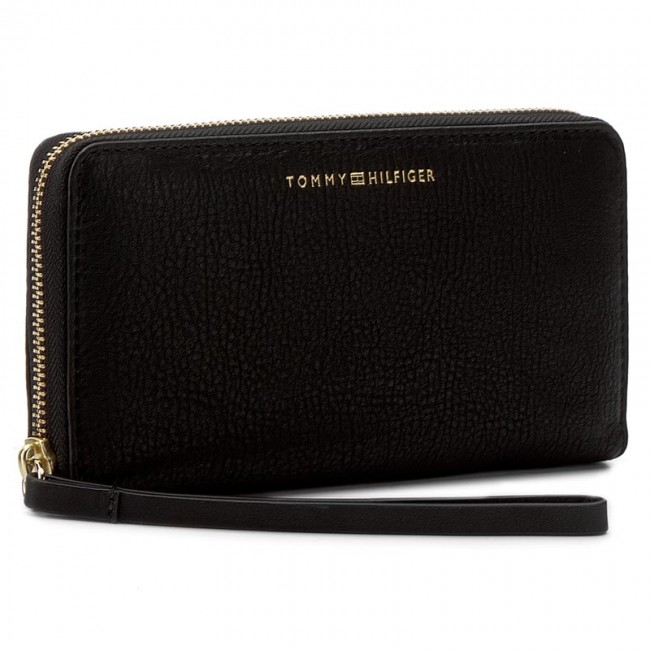 7554f653 Large Women's Wallet TOMMY HILFIGER - Soft Leather Large Z/A Wallet ...