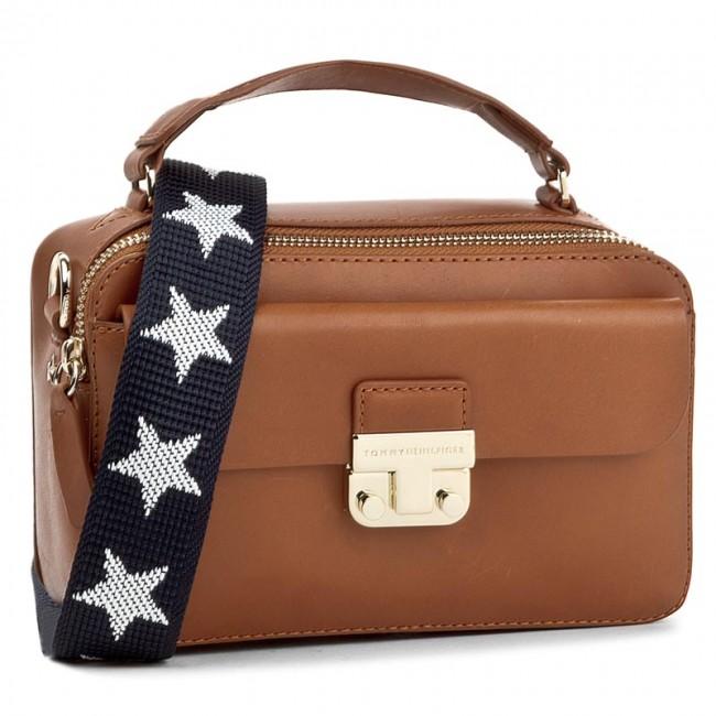 164ea50ea2c5 Handbag TOMMY HILFIGER. Fashion Hardware Leather Mini Crossover AW0AW04291  279