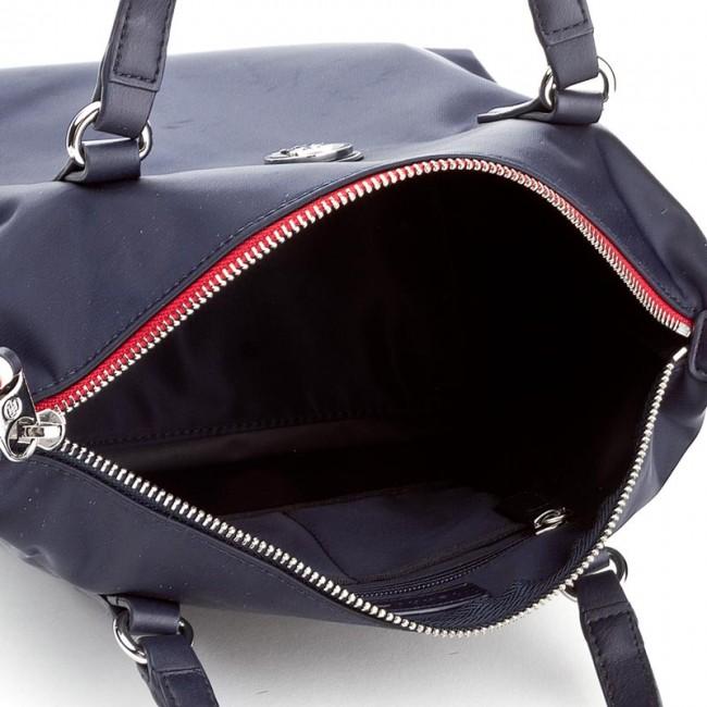 Handbag TOMMY HILFIGER - Poppy Small Tote AW0AW04361 413 - Classic -  Handbags - www.efootwear.eu ec7a1e9d5d7