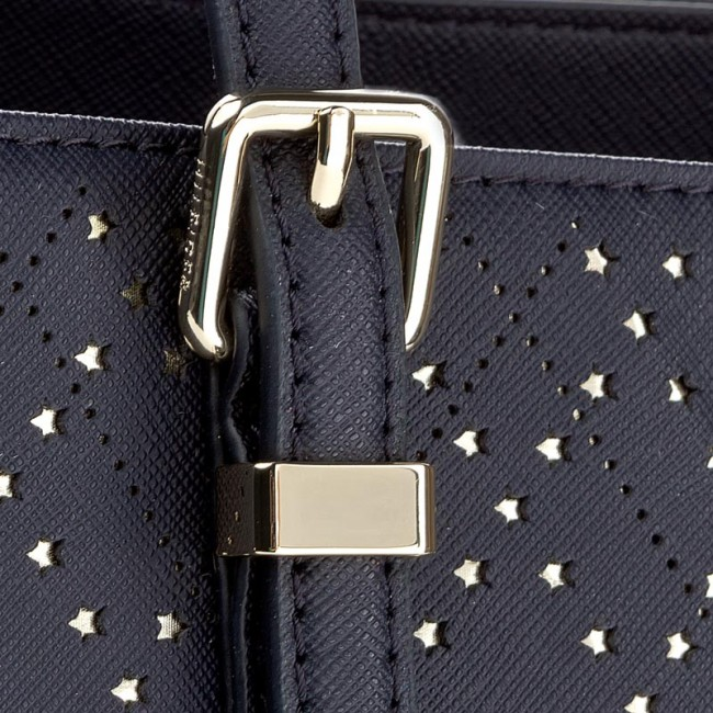 195db448 Handbag TOMMY HILFIGER - Honey Med Tote Perf AW0AW04642 905 ...