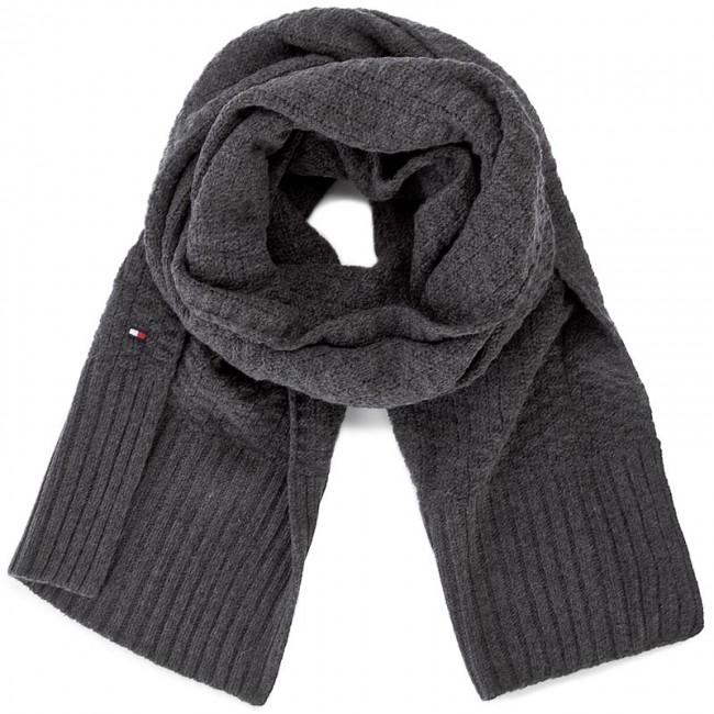 Scarf TOMMY HILFIGER - Structured Knit Scarf AM0AM02744 004 ... 2bb42a7f9b