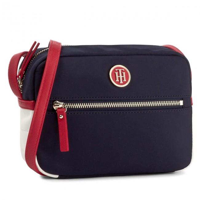 88bbca7639a Handbag TOMMY HILFIGER - Chic Nylon Crossover AW0AW04841 901 - Cross ...