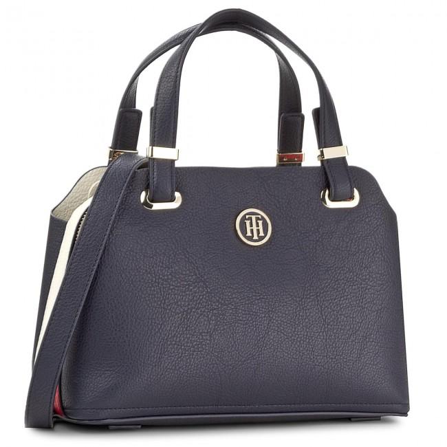 3e0e423367 Handbag TOMMY HILFIGER - Th Core Med Satchel AW0AW05028 901 ...