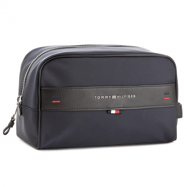 Case 413 Beauty Hilfiger Tommy Am0am03255 Washbag Elevated d6YP6wq