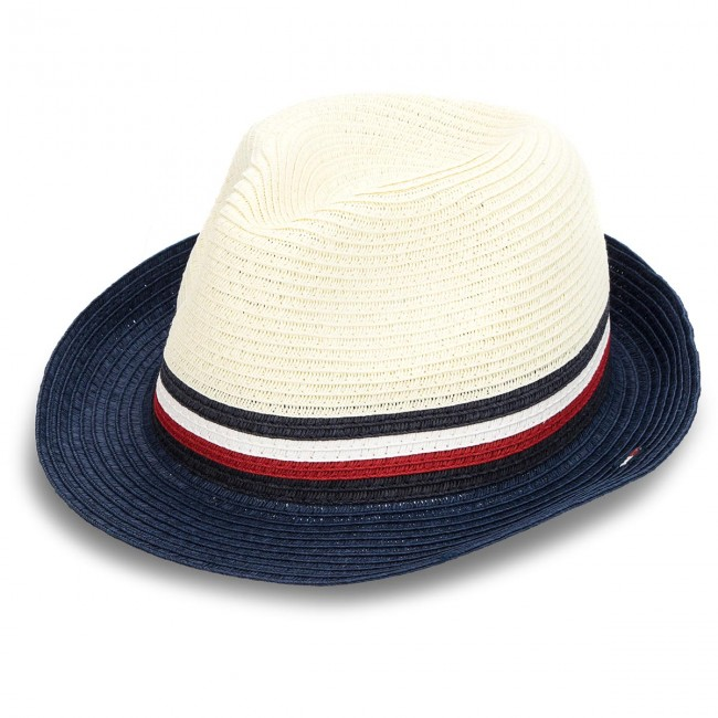 dbe03137842 Hat TOMMY HILFIGER - Th Straw Hat AM0AM03337 104 - Men s - Hats ...
