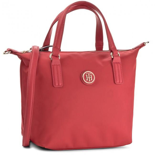 Handbag TOMMY HILFIGER - Poppy Small Tote AW0AW04361 614 - Classic ... fcc7b8c89aa