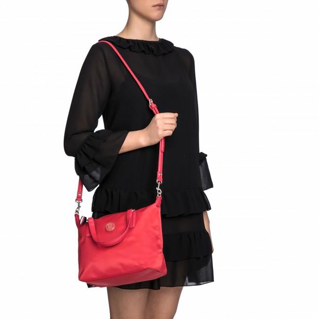 Handbag TOMMY HILFIGER - Poppy Small Tote AW0AW04361 614 - Classic -  Handbags - www.efootwear.eu 308f08b2071