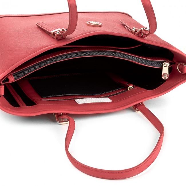 3a17af600fb46 Handbag TOMMY HILFIGER - Honey Med Tote AW0AW04996 614 - Classic - Handbags  - www.efootwear.eu