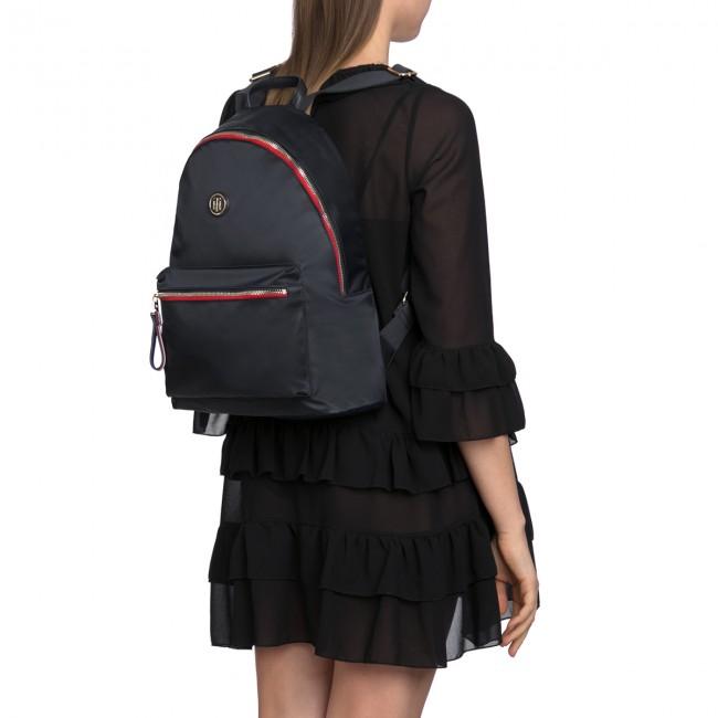 f1f5b3e2991db Backpack TOMMY HILFIGER - Poppy Backpack AW0AW05085 413 - Backpacks -  Handbags - www.efootwear.eu