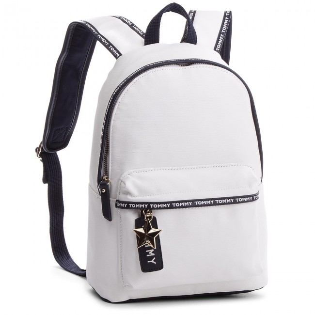 6c615b62724 Backpack TOMMY HILFIGER - Th Logo Tape Mini Backpack AW0AW05088 104 ...