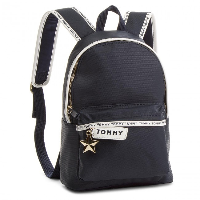 2954436db43 Backpack TOMMY HILFIGER - Th Logo Tape Mini Backpack AW0AW05088 413 ...