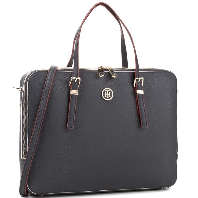 47e9d5f896f30 Laptop Bag TOMMY HILFIGER - Honey Computer Bag AW0AW05276 905 ...