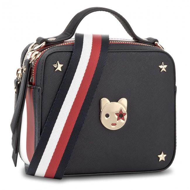 Handbag Tommy Hilfiger Camera Bag Icon Fancy Strap Corp Aw0aw05290 903