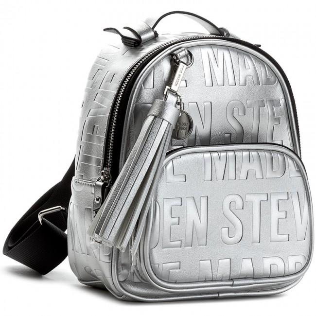 dd09c3175dc Backpack STEVE MADDEN - Bcool Backpack 93000092-07004-14017 Silver ...