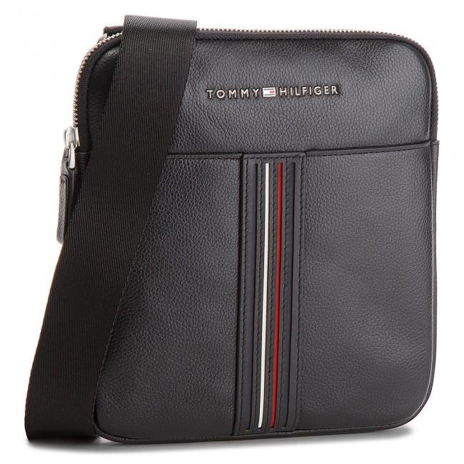 Messenger Bag TOMMY HILFIGER - Inlay Leather Mini C AM0AM03611 002 ... 4a2321b78b