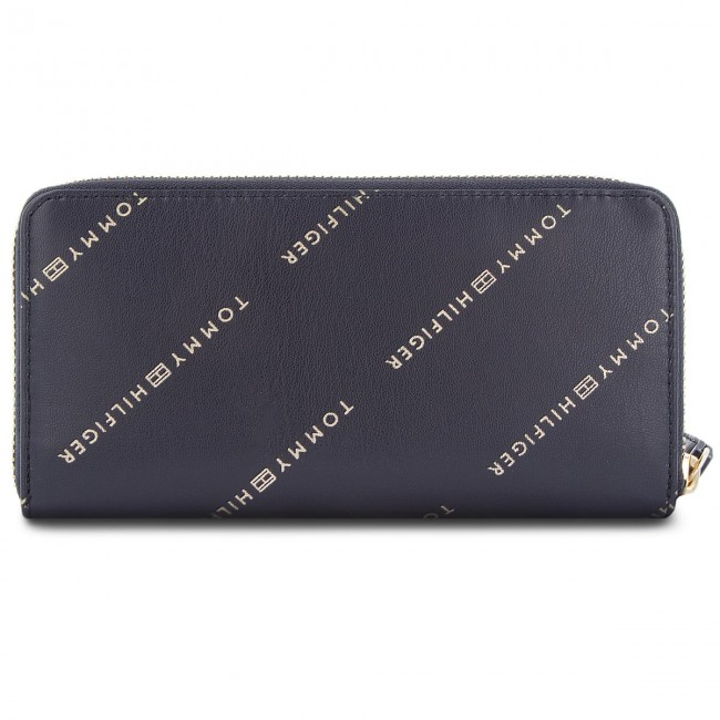 dccf418fb8e9e Large Women s Wallet TOMMY HILFIGER - Iconic Tommy Za Wlt AW0AW05759 ...
