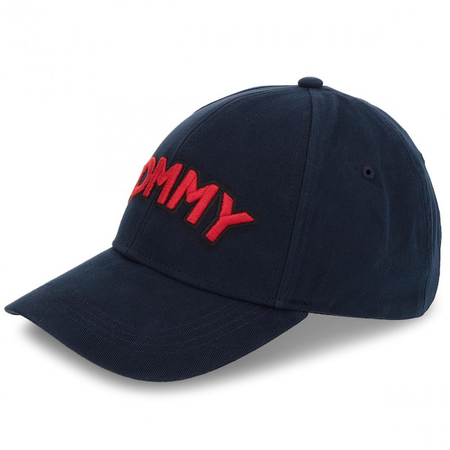 cap tommy hilfiger tommy patch cap aw0aw05945 413 women s hats