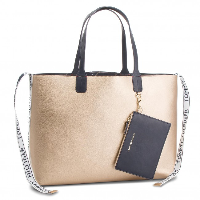 f48bf2a5 Handbag TOMMY HILFIGER - Iconic Tommy Tote AW0AW05640 909 - Classic ...
