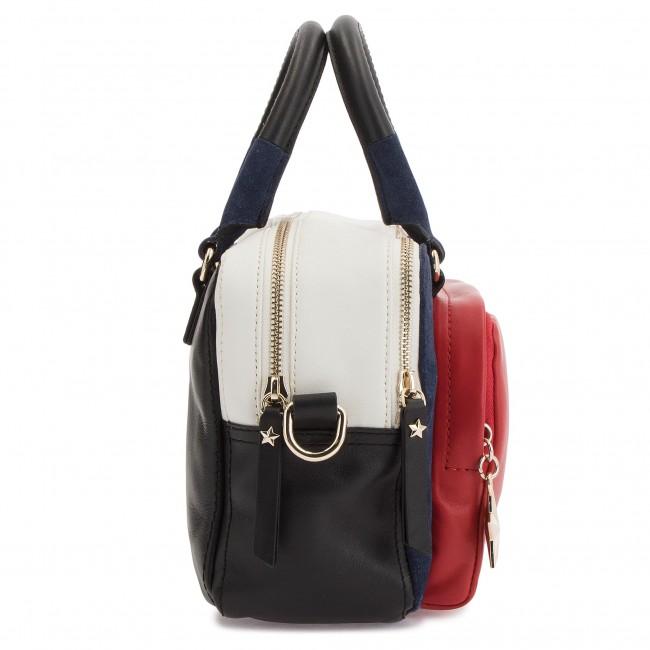 Handbag TOMMY HILFIGER - Corp Highlight Duffl AW0AW05722 901 ... a9a968447d1