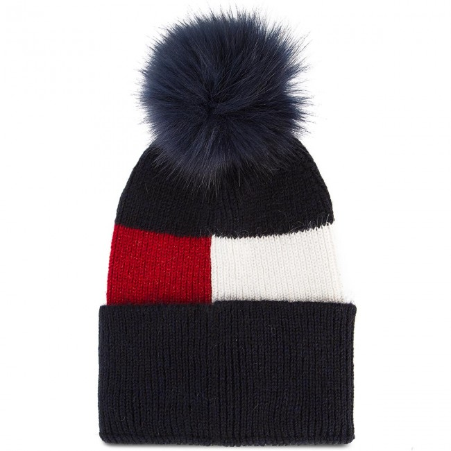 Cap TOMMY HILFIGER - Luxury Colorblock Be AW0AW05946 901 - Hats ... bdcc1657b0