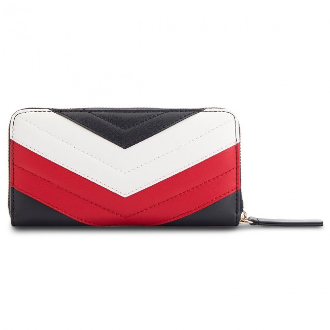 Large Women s Wallet TOMMY HILFIGER - Mascot Leather Lrg Z AW0AW05743 901 740486fcda