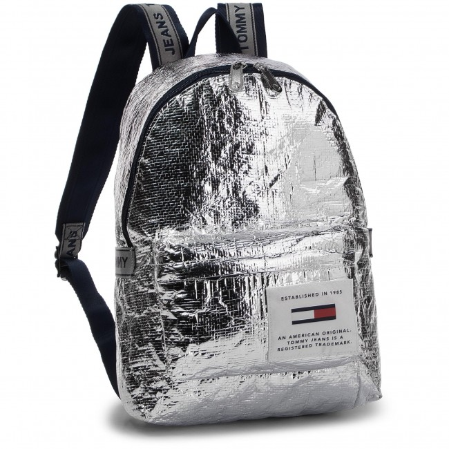 1e7c5124b33 Backpack TOMMY HILFIGER - Tju Logo Tape Med Backpack Tp AU0AU00462 ...