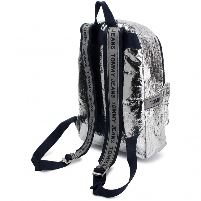 1bc95058b9f Backpack TOMMY HILFIGER - Tju Logo Tape Med Backpack Tp AU0AU00462 055