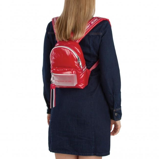 34b53b1112 Backpack TOMMY JEANS - Tju Logo Tape Micro Backpack Ncp AU0AU00393 661 -  Backpacks - Handbags - www.efootwear.eu