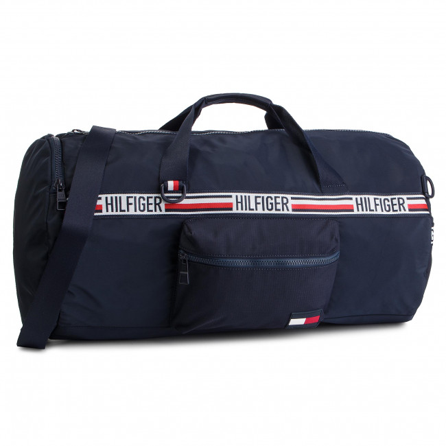 1a828991b4 Bag TOMMY HILFIGER - Tommy Duffle Sports Tape Conv AM0AM04636 413 ...