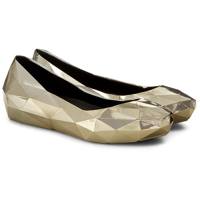 Flats UNITED NUDE - Lo Res Lo 100302221 Gold Chrome