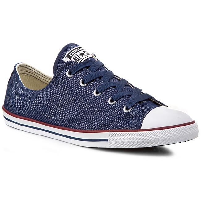 80ac83d9df05f1 Sneakers CONVERSE - Ct Dainty Ox 547152C Navy - Sneakers - Low shoes ...