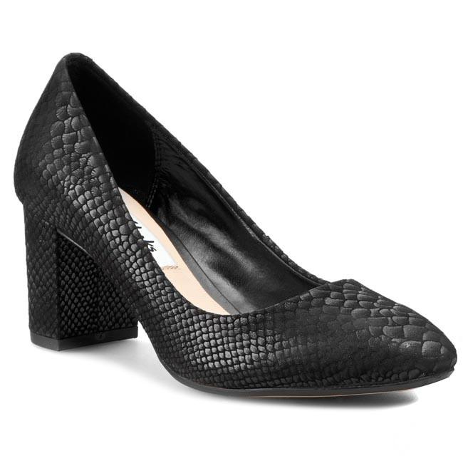 Shoes CLARKS - Blissful Cloud 261064624 Black Snake