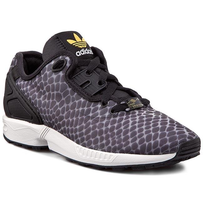 Shoes adidas - Zx Flux Decon B23724 Clonix Cblack Cogold - Sneakers ... 2cb6f68e99f61