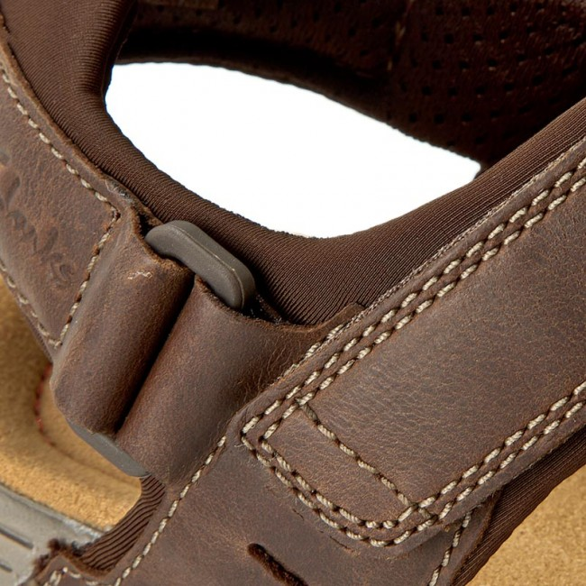 32e73586064bc Sandals CLARKS - Vextor Part 203433847 Tobacco - Sandals - Mules and ...