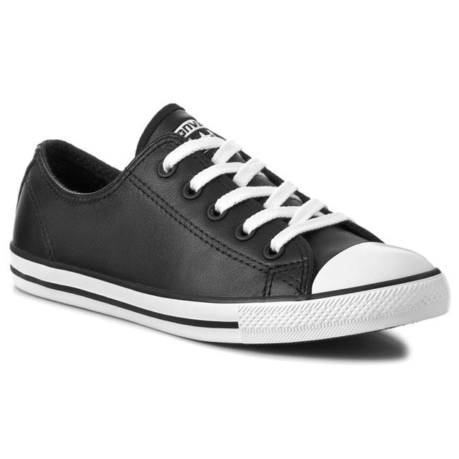 e83e19c8de2e Sneakers CONVERSE - Ct Dainty Ox 537107C Black - Plimsolls - Sports ...