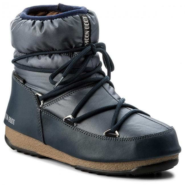 9bb12179bfe6 Snow Boots MOON BOOT - W.E. Low Nylon Wp 24006200006 Blue Denim ...